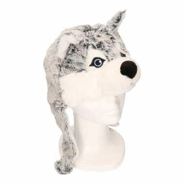 Husky hond / wolf muts flappen kinderen kopen