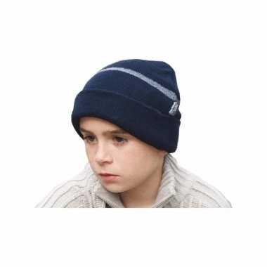 Result skimuts blauw kids kopen