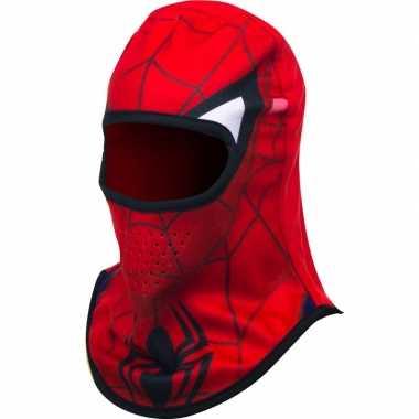 Rode spiderman skimuts jongens kopen