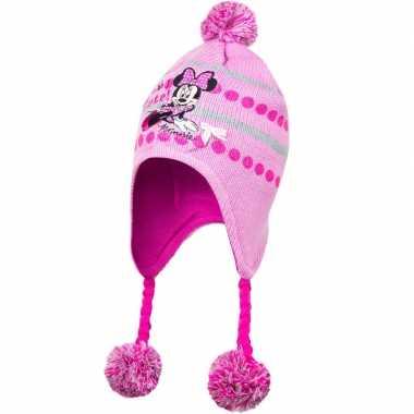 Roze minnie mouse skimuts meisjes kopen
