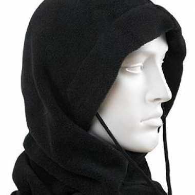 Zwarte fleece bivakmutsen kopen